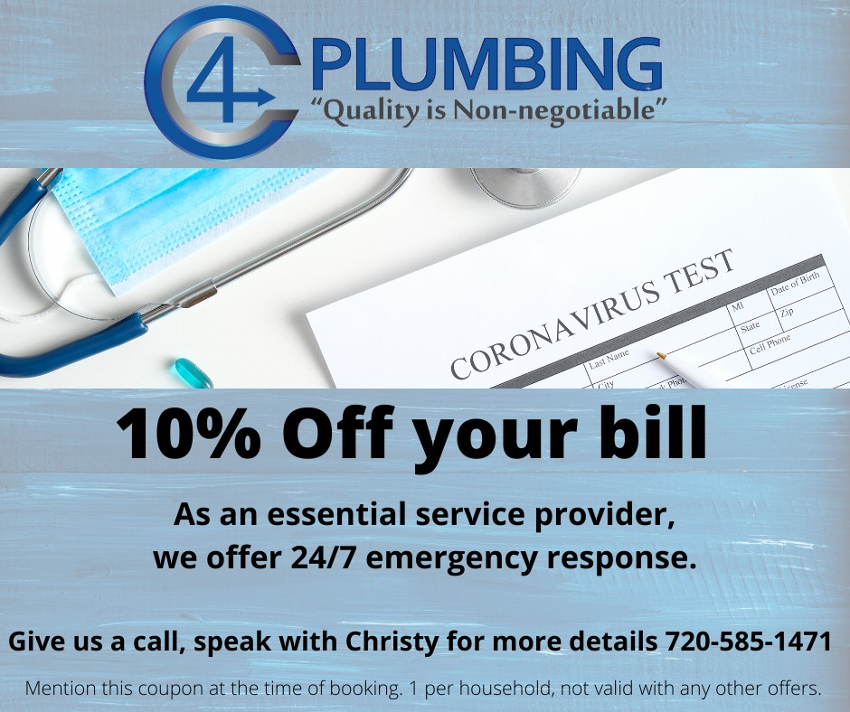10% off your bill! As an ESSENTIALservice provider, we offer 24/7 emergency response!