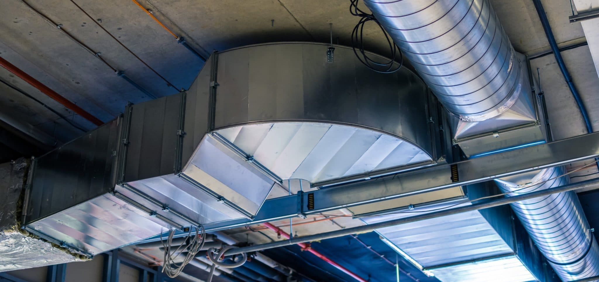 Ducts of an hvac system